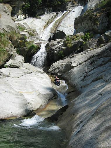 Canyoning en Vallée d'Aoste